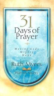 Cover of: 31 Days of Prayer