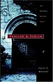 Cover of: Publish and Perish (Ben Reese Mystery)