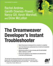 Cover of: The Dreamweaver Developer's Instant Troubleshooter
