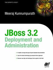 Cover of: JBoss 3.2 Deployment and Administration