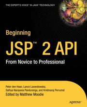Cover of: Beginning JSP 2