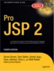 Cover of: Pro JSP 2, Fourth Edition (Expert's Voice in Java)