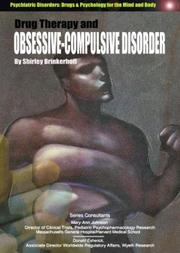 Cover of: Drug Therapy and Obsessive-Compulsive Disorders (Psychiatric Disorders: Drugs & Psychology for the Mind and Body)