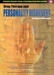 Cover of: Drug Therapy and Personality Disorders (Psychiatric Disorders: Drugs & Psychology for the Mind and Body)