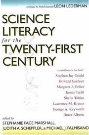 Cover of: Science literacy for the twenty-first century