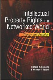 Cover of: Intellectual property rights in a networked world