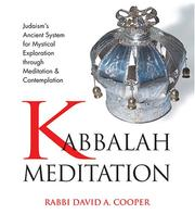 Cover of: Kabbalah Meditation