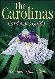 Cover of: Carolinas Gardener's Guide