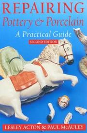 Cover of: Repairing Pottery and Porcelain