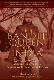 Cover of: The Bandit Queen of India