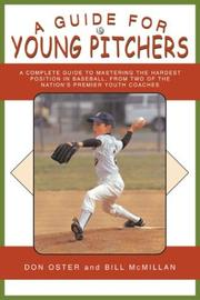 Cover of: A Guide for Young Pitchers (Young Player's)