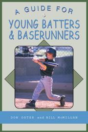 Cover of: A Guide for Young Batters & Baserunners (Young Player's)