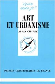 Cover of: Art et urbanisme
