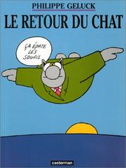 Cover of: Le Retour du chat