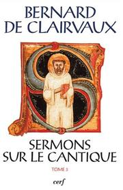 Cover of: Sermons sur le Cantique