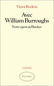Cover of: Avec William Burroughs