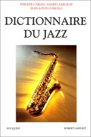 Cover of: Dictionnaire du jazz