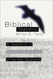 Cover of: Biblical Dogmatics