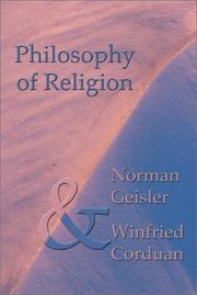 Cover of: Philosophy of Religion