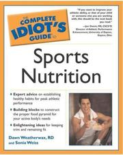 Cover of: Complete Idiot's Guide to Sports Nutrition (The Complete Idiot's Guide)