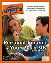 Cover of: The Complete Idiot's Guide to Personal Finance in your 20s and 30s, Third Edition