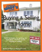 Cover of: The Complete Idiot's Guide to Buying and Selling a Home, 5th Edition (Complete Idiot's Guide to)