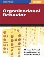 Cover of: Organizational Behavior