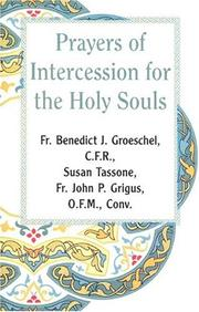 Cover of: Prayer of Intercession for the Holy Souls