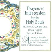 Cover of: Prayers of Intercession for the Holy Souls