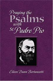 Cover of: Praying the Psalms With St. Padre Pio