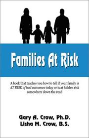 Cover of: Families at Risk