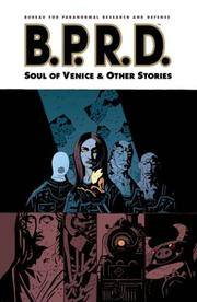 Cover of: B.P.R.D. Volume 2: The Soul of Venice & Other Stories