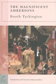 Cover of: The Magnificent Ambersons (Barnes & Noble Classics Series) (Barnes & Noble Classics)