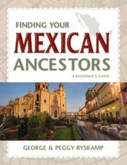 Cover of: Finding Your Mexican Ancestors