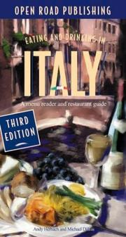 Cover of: Eating & Drinking in Italy