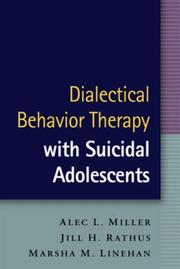 Cover of: Dialectical Behavior Therapy with Suicidal Adolescents