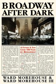 Cover of: Broadway After Dark