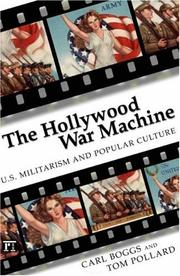 Cover of: The Hollywood War Machine
