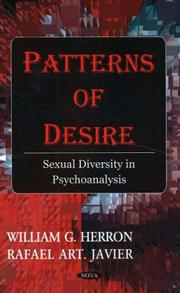 Cover of: Patterns of Desire