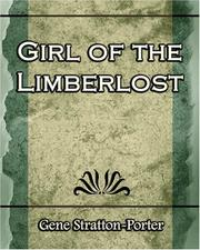 Cover of: A Girl of the Limberlost - 1909