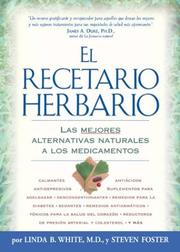 Cover of: El Recetario Herbario