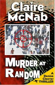 Cover of: Murder at Random (Denise Cleever Thrillers)