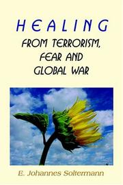 Cover of: Healing From Terrorism, Fear, And Global War