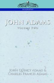 Cover of: John Adams, Vol. 2