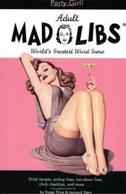 Cover of: Party Girl Mad Libs