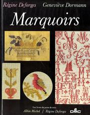 Cover of: Marquoirs