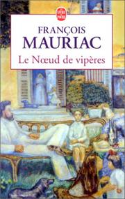 Cover of: Le noeud de viperes