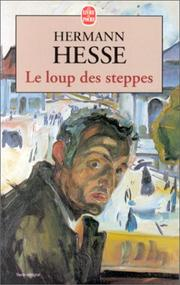 Cover of: Le loup des steppes