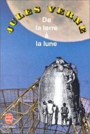 Cover of: De la terre a la lune
