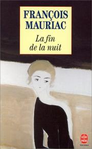 Cover of: La fin de la nuit